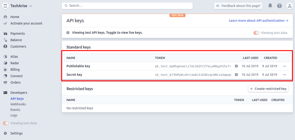 Stripe Payment Gateway in Codeigniter using cURL | Tech Arise